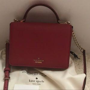 Kate Spade Cedar Street Mini Red Leather Bag